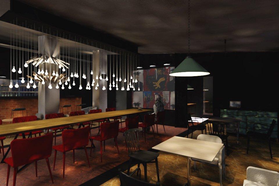 Дизайн ресторана курсовая работа 6309