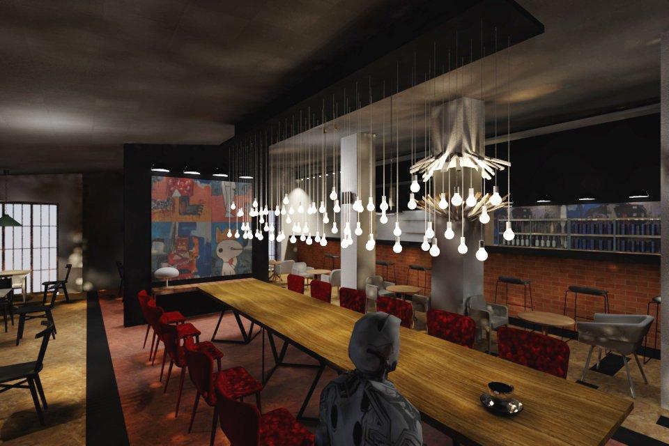 Дизайн ресторана курсовая работа 9708