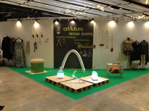 Школа Дизайна «АртФутуре» на Stockholm Furniture Fair 2013