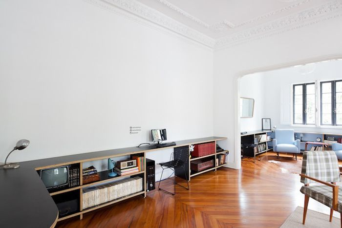 Интерьер хостела We Hostel, архитектор Фелип Гесс (Felipe Hess)