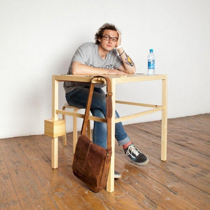 """Многофункциональный стол """"Зевака"""", автор Ярослав Мисонжников, выпускник Школы Дизайна ArtFuture"""
