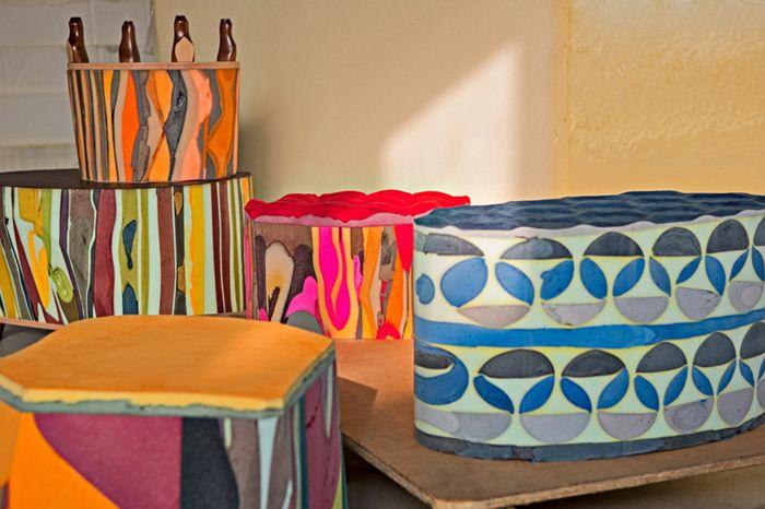 Серия мебели Gommapiuma decor, дизайнер Массимилиано Адами (Massimiliano Adami).