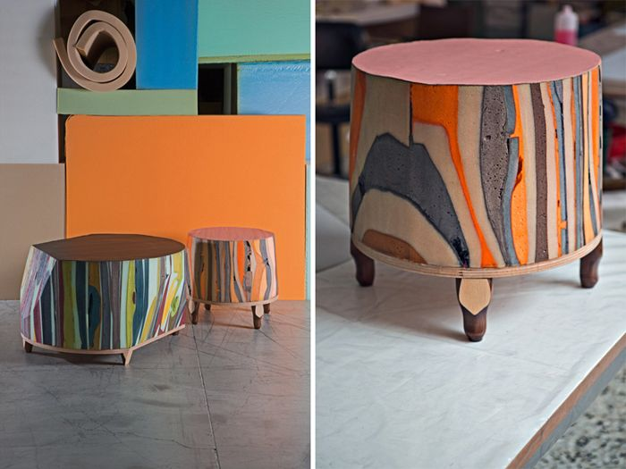 Серия мебели Gommapiuma decor, дизайнер Массимилиано Адами (Massimiliano Adami)