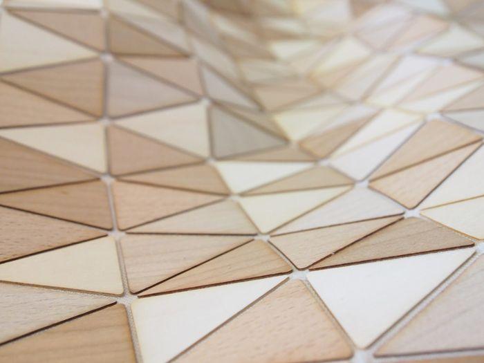 Ковер Wooden Textiles, дизайнер Элиза Строцик (Elisa Strozyk)