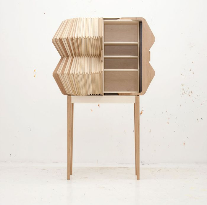 Комод Accordion Cabinet, дизайнер Элиза Строцик (Elisa Strozyk)