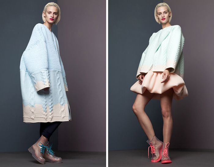 Выпускная коллекция одежды, дизайнер Сяо Ли (Xiao Li).