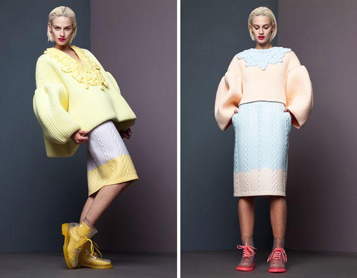 Выпускная коллекция одежды, дизайнер Сяо Ли (Xiao Li)
