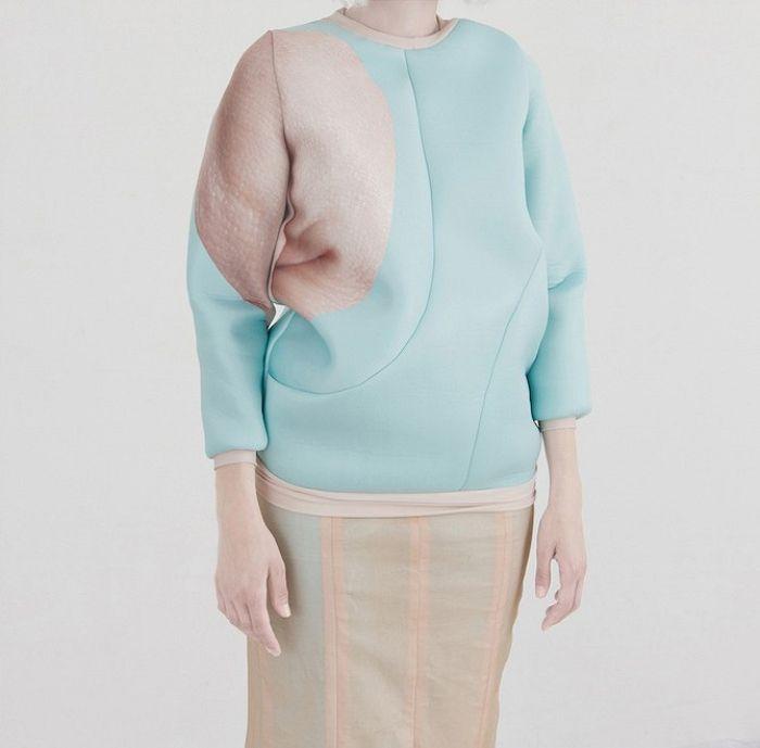 Коллекция одежды Minutae, дизайнер Джорджина Сантьяго (Georgina Santiago)