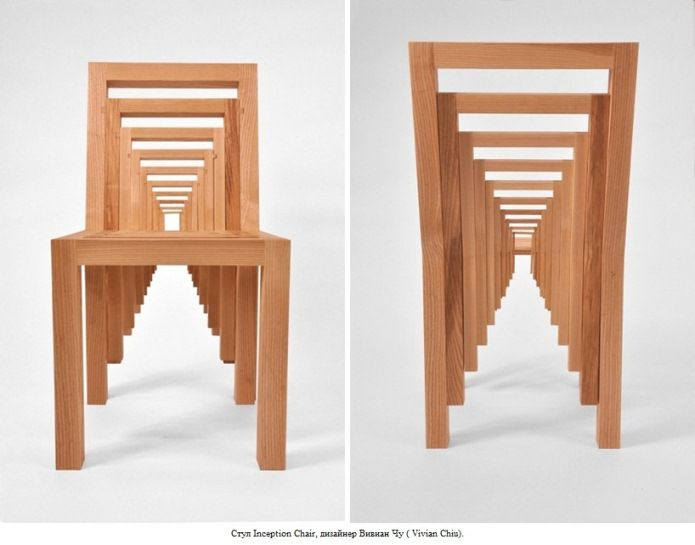 Блог ArtFuture: Стул Inception Chair, дизайнер Вивиан Чу (Vivian Chiu)