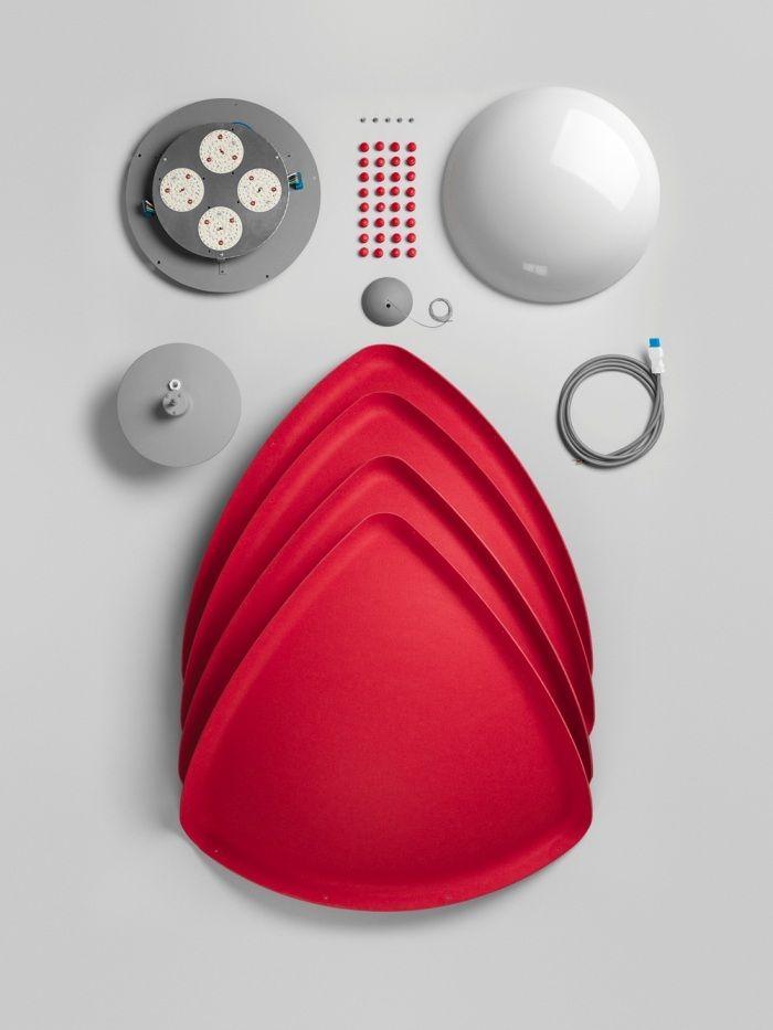 Подвесной светильник Hood, студия Form us With Love