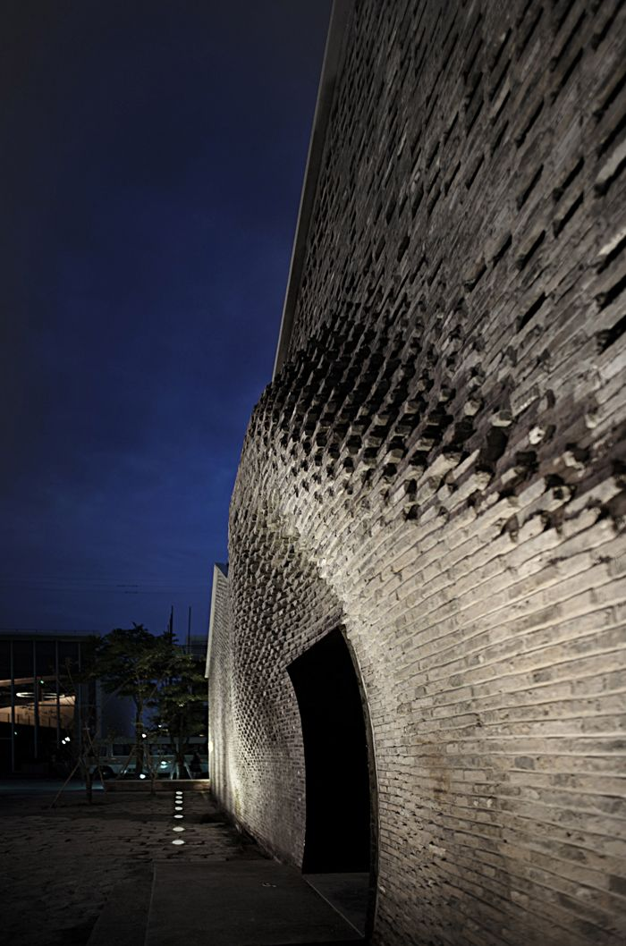 Выставочный центр West Bund Art Centre, архитектурная студия Archi-Union Architects