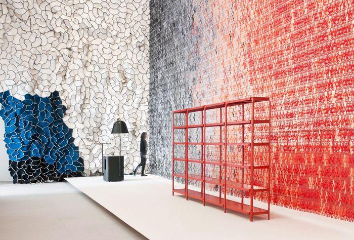 Выставка Momentane в Музее декоративного искусства в Париже, дизайнеры Ронан и Эрван Буруллек (Ronan and Erwan Bouroullec)