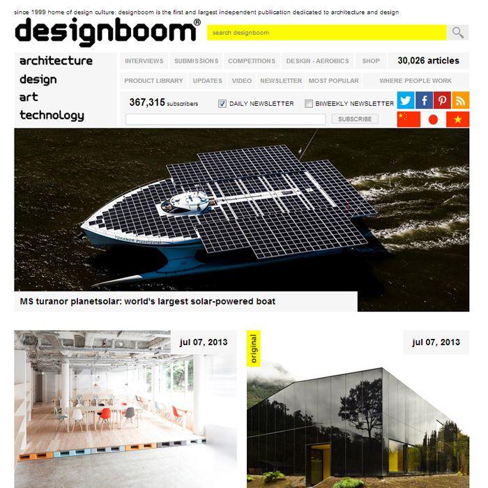 Designboom blog