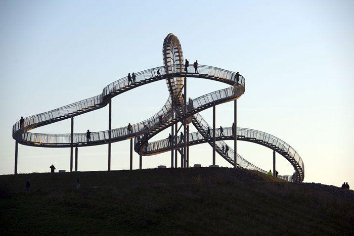 Смотровая площадка Tiger and Turtle – Magic Mountain, архитектурная студия Heike Mutter + Ulrich Genth