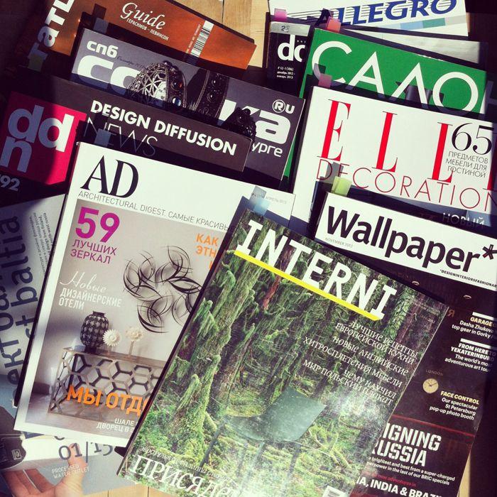 Журналы о дизайне
