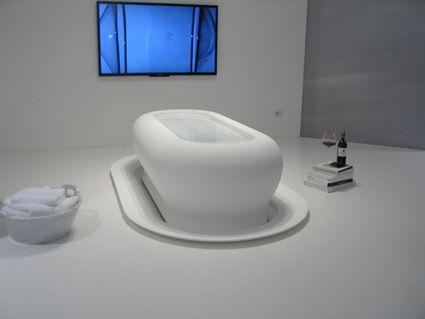 экспозиции в Temporary Museum for New Design