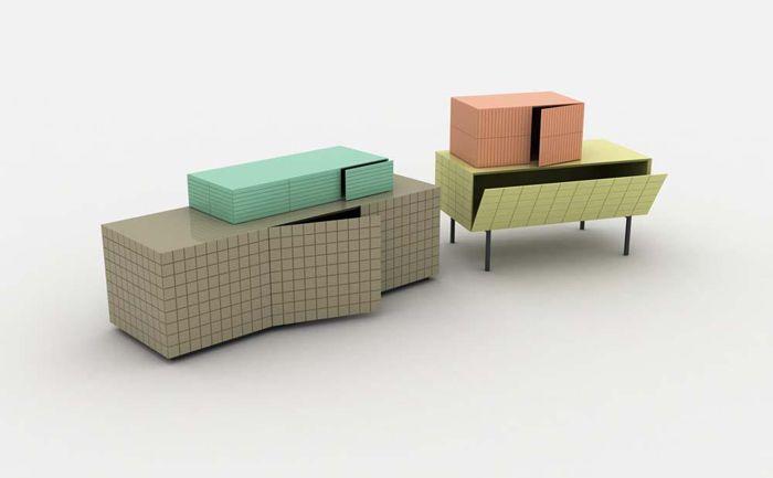 Система хранения Toshi, дизайнер Лука Никетто (Luca Nichetto)