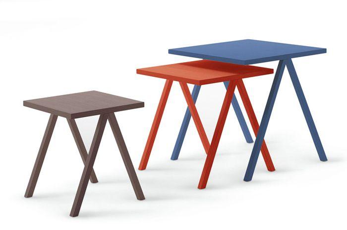 Журнальный столик Hiip Table для компании Cappellini, дизайнер Леонардо Таларико (Leonardo Talarico)