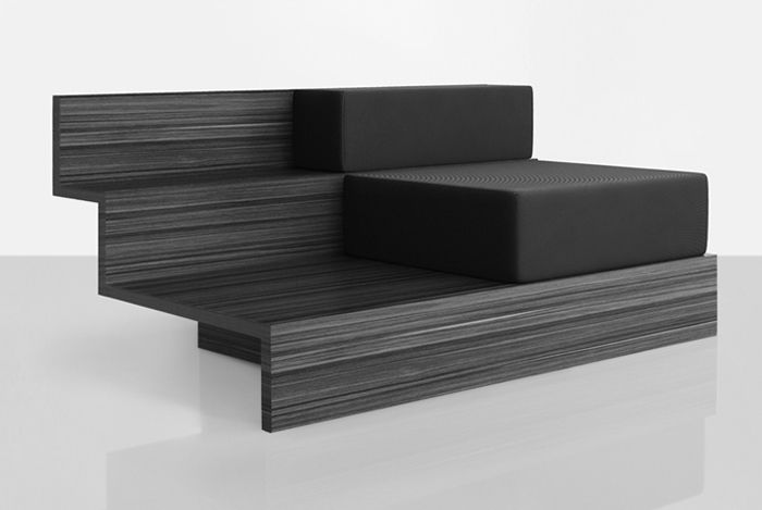 Комбинация дивана и журнального столика для компании Henry Timi, дизайнер Леонардо Таларико (Leonardo Talarico).