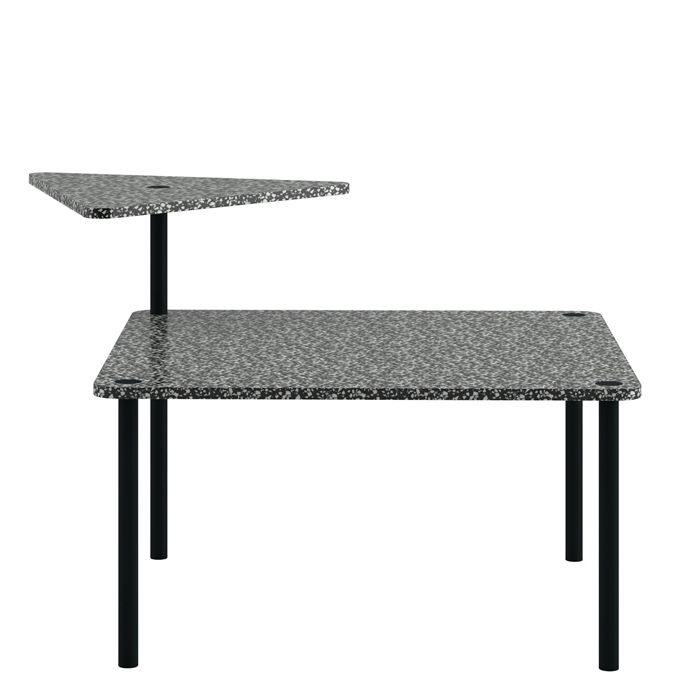 Журнальный столик Kobe для компании Cappellini, дизайнер Леонардо Таларико (Leonardo Talarico).