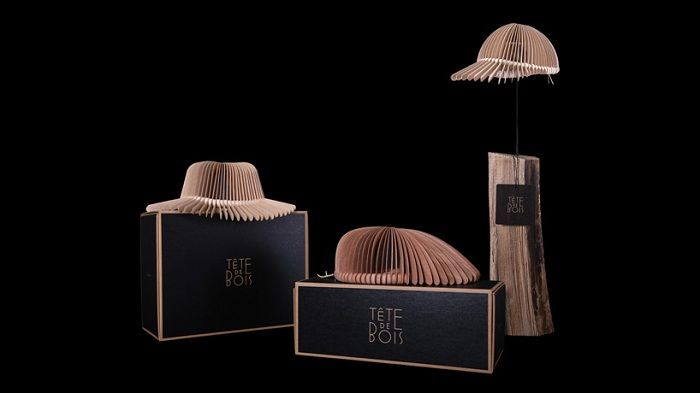 Коллекция головных уборов Tete de bois design, дизайнер Андреа Деппиери (Andrea Deppieri)